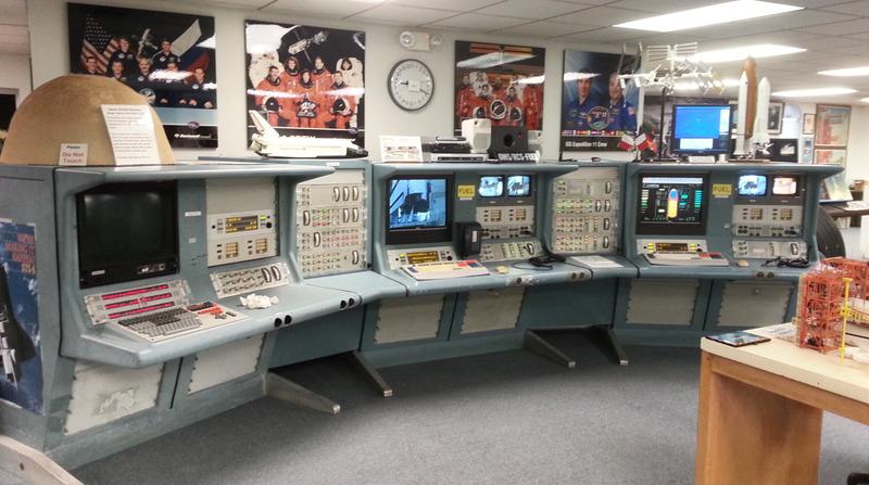 Shuttle Firing Room Consoles